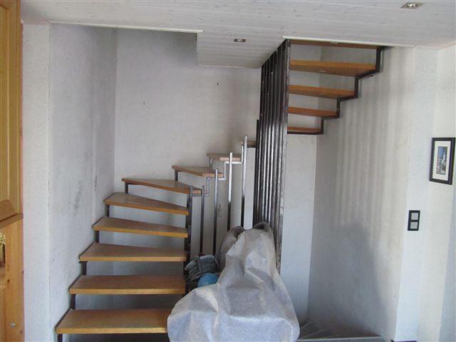 schlosserei hofmann innen au en treppen. Black Bedroom Furniture Sets. Home Design Ideas