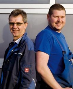 Winfried und Dirk Hofmann